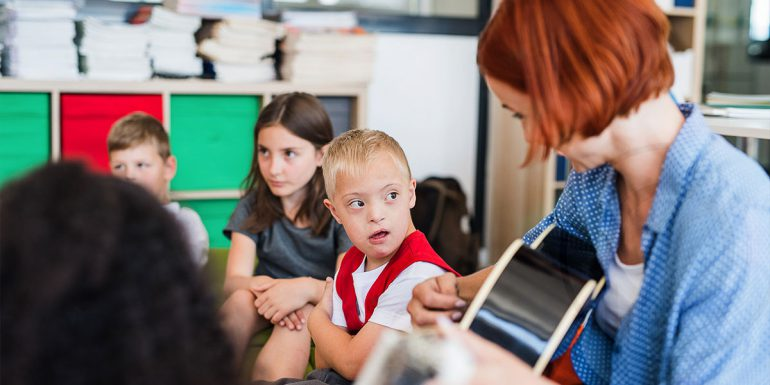 Difficoltà dell'apprendimento in situazioni di handicap e integrazione scolastica